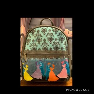 Loungefly Bags - Disney Haunted Mansion Dancing Ghost Mini Backpack